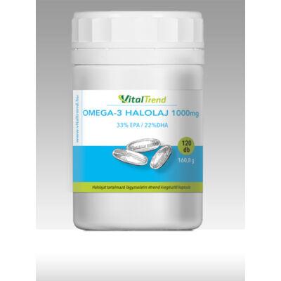 Vital Trend Omega-3 halolaj 33/22 (120 kapszula)