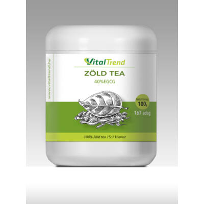 Vital Trend Zöld Tea kivonat (40% EGCG) por