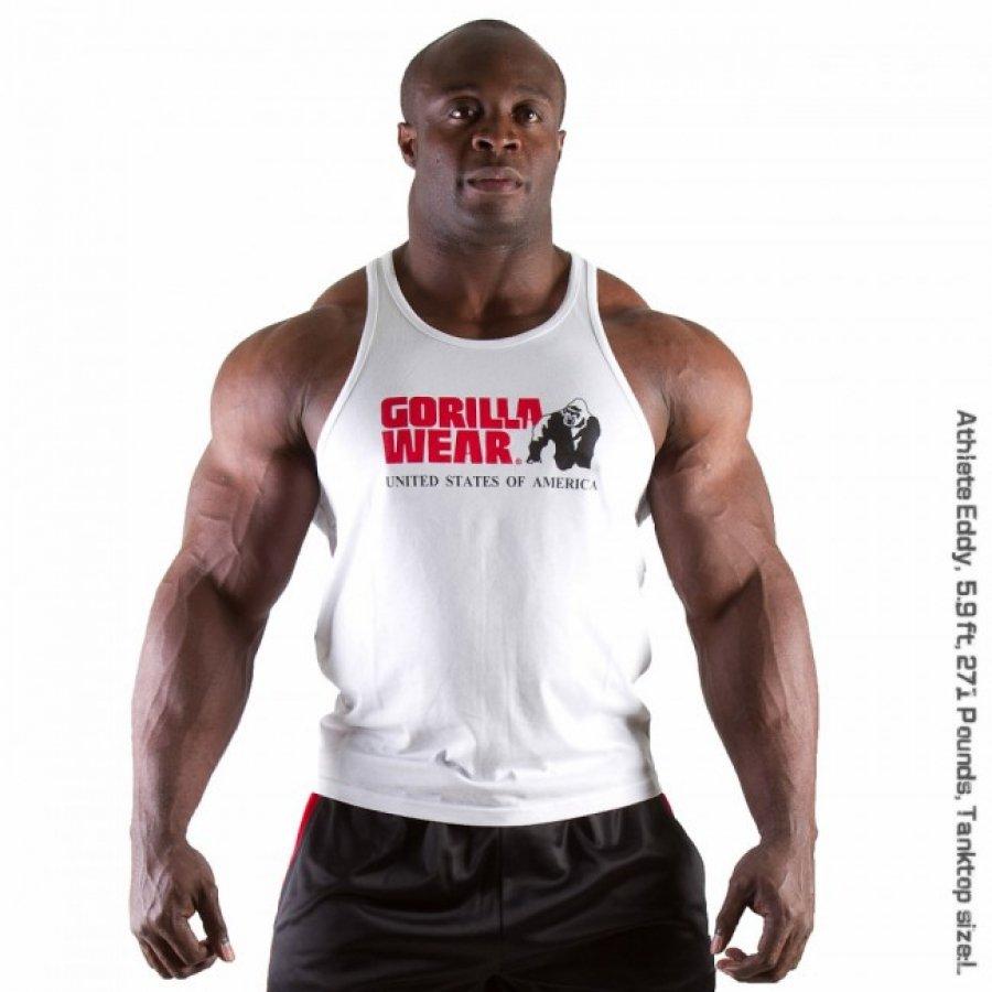 cdd175a004 Extrafit: Gorilla Wear Classic fehér atléta trikó