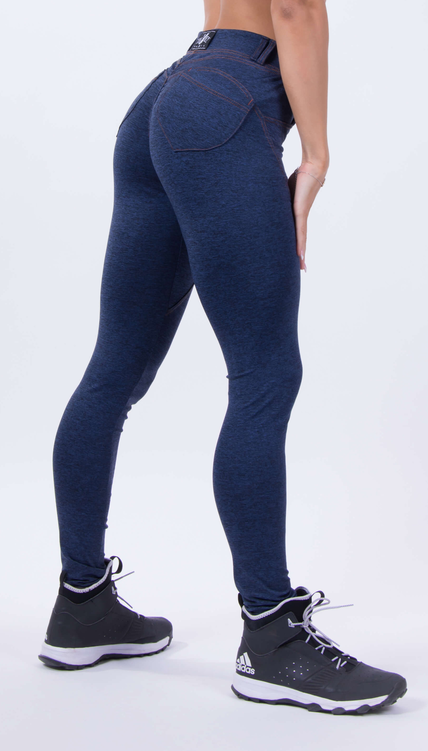 cc099aa438 Extrafit: NEBBIA Bubble Butt leggings 251 kék